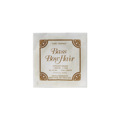 DUNLOP HE906 BASS BOW HAIR волос для смычка контрабаса фото