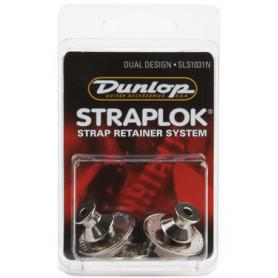 DUNLOP SLS1031N DUAL DESIGN NICKEL Стреплоки для ремней фото