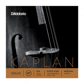 D`ADDARIO KS510 4/4M KAPLAN CELLO STRINGS 4/4 MEDIUM Струны для виолончели фото