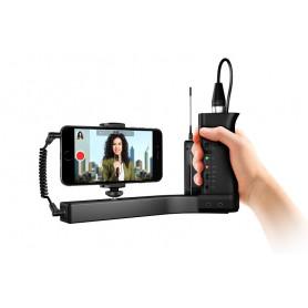 IK MULTIMEDIA iKLIP A/V держатель для смартфона/камеры для профессиональной аудио и видеозаписи фото