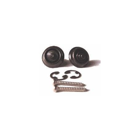 DUNLOP SLS1103BK ORIGINAL DESIGN BLACK Стреплоки для ремней фото