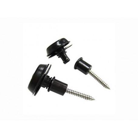 DUNLOP SLS1403BK FLUSHMOUNT DESIGN BLACK Стреплоки для ремней фото