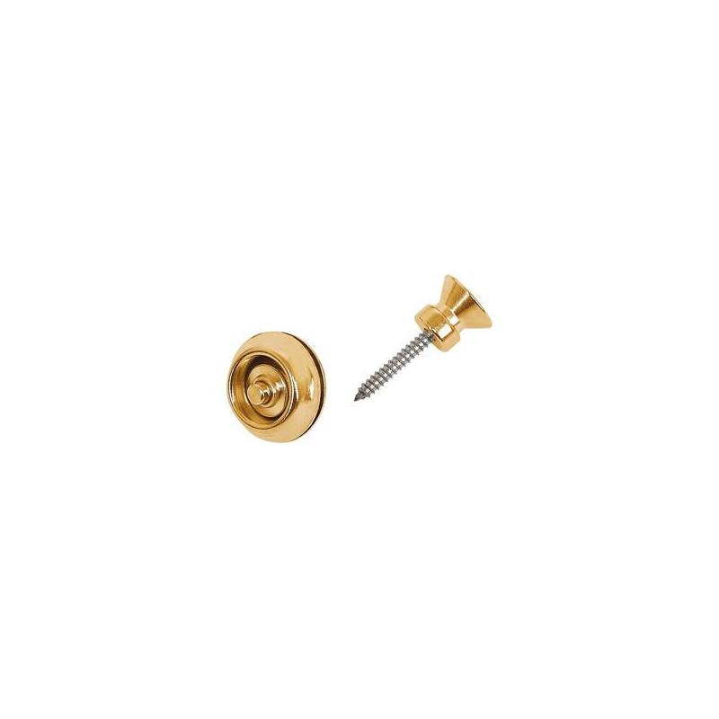 DUNLOP SLS1502BR TRADITIONAL DESIGN BRASS Стреплоки для ремней фото