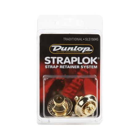 DUNLOP SLS1504G TRADITIONAL DESIGN GOLD Стреплоки для ремней фото