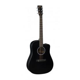 MARTIN DCXAE BLACK Электро-акустическая гитара фото