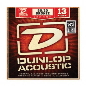 DUNLOP DAB1356 80/20 BRONZE MEDIUM (13-56) Струны фото