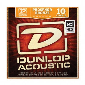 DUNLOP DAP1048 PHOSPHOR BRONZE EXTRA LIGHT (10-48) Струны фото