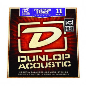 DUNLOP DAP1152 PHOSPHOR BRONZE MEDIUM LIGHT (11-52) Струны фото