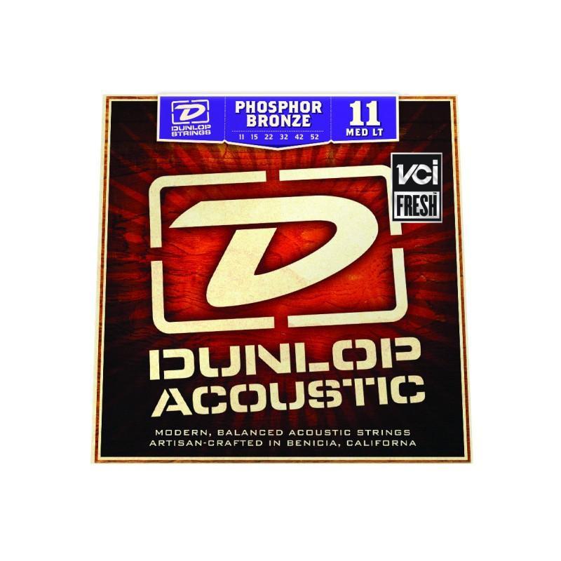 DUNLOP DAP1152 PHOSPHOR BRONZE MEDIUM LIGHT (11-52) Струны фото