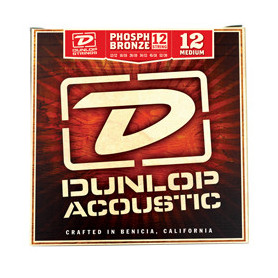 DUNLOP DAP1252J PHOSPHOR BRONZE MEDIUM-12 (12-52) Струны фото