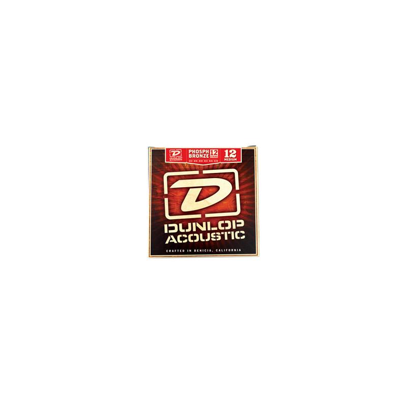 DUNLOP DAP1252J PHOSPHOR BRONZE MEDIUM-12 (12-52) Струны фото