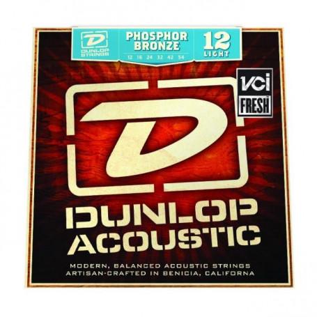 DUNLOP DAP1254 PHOSPHOR BRONZE LIGHT (12-54) Струны фото