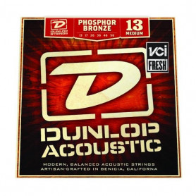 DUNLOP DAP1356 PHOSPHOR BRONZE MEDIUM (13-56) Струны фото