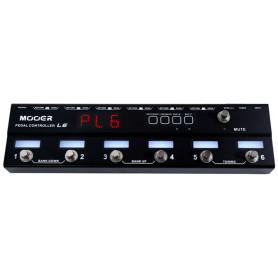 MOOER PEDAL CONTROLLER PCL6 Футконтроллер фото