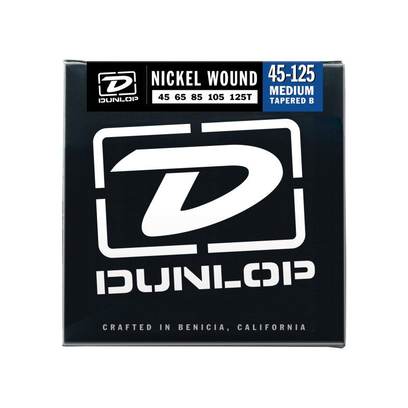 DUNLOP DBN45125T NICKEL PLATED STEEL MEDIUM 5 TAPERED B 45-125 Струны фото
