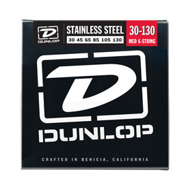 DUNLOP DBS30130 STAINLESS STEEL MEDIUM 6 STRING (30-130) Струны фото