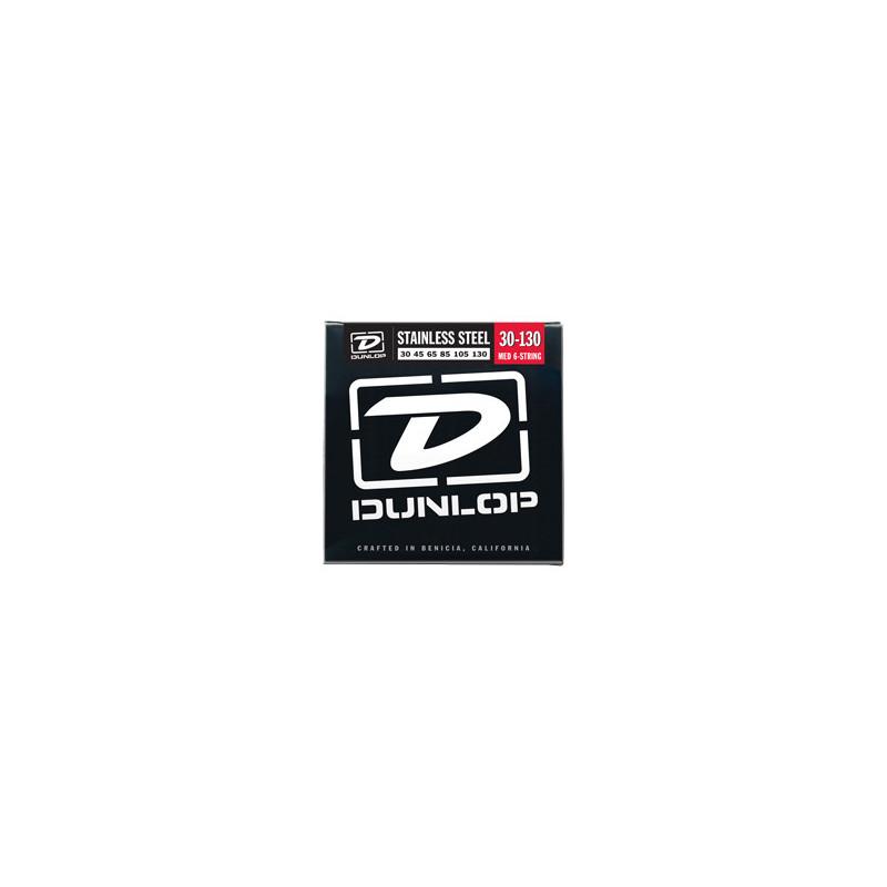 DUNLOP DBS30130 STAINLESS STEEL MEDIUM 6 STRING (30-130) Струны фото