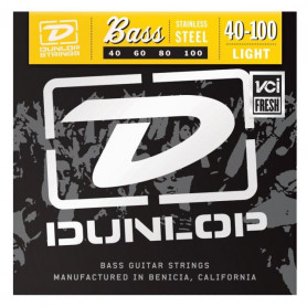DUNLOP DBS40100 STAINLESS STEEL LIGHT 40-100 Струны фото