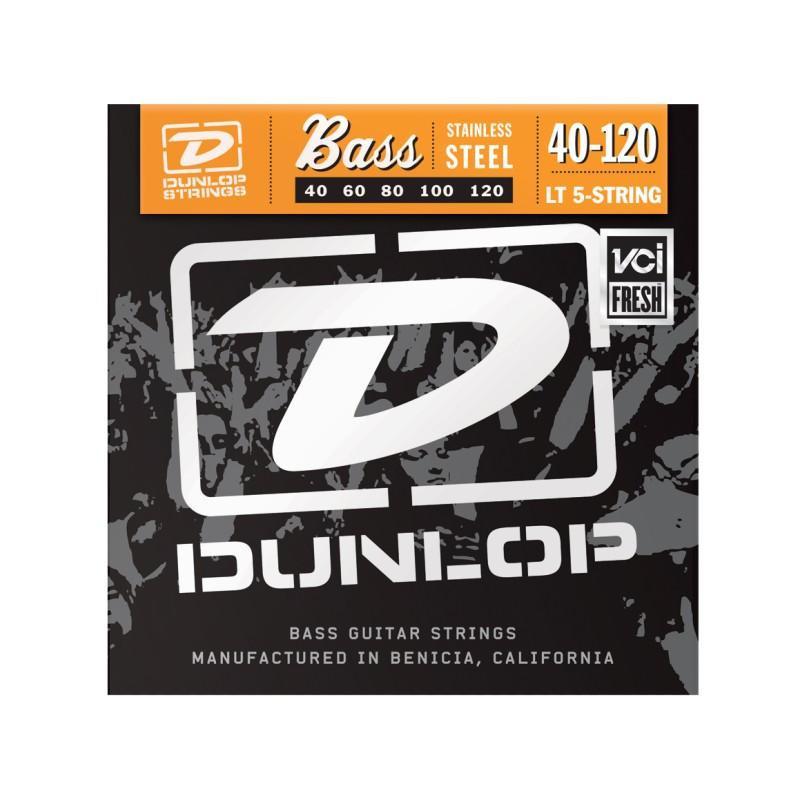 DUNLOP DBS40120 STAINLESS STEEL LIGHT 5 STRING 40-120 Струны фото