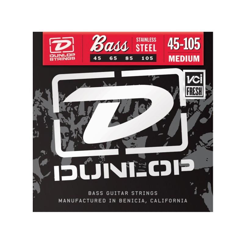 DUNLOP DBS45105 STAINLESS STEEL MEDIUM 45-105 Струны фото