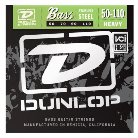 DUNLOP DBS50110 STAINLESS STEEL HEAVY 50-110 Струны фото