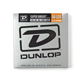 DUNLOP DBSBN40120 SUPER BRIGHT NICKEL 40-120 Струны для бас-гитары фото