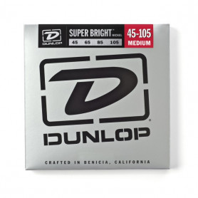 DUNLOP DBSBN45105 SUPER BRIGHT NICKEL 45-105 Струны для басгитары фото