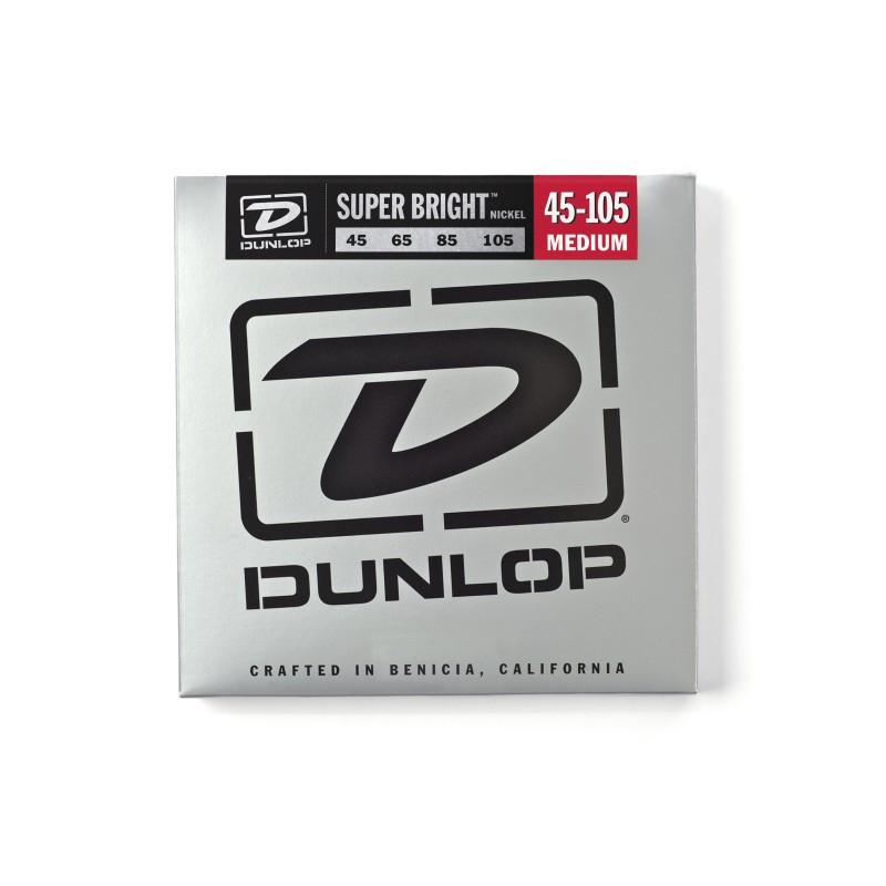 DUNLOP DBSBN45105 SUPER BRIGHT NICKEL 45-105 Струны для басгитары фото