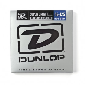 DUNLOP DBSBN45125 SUPER BRIGHT NICKEL 45-125 Струны для басгитары фото