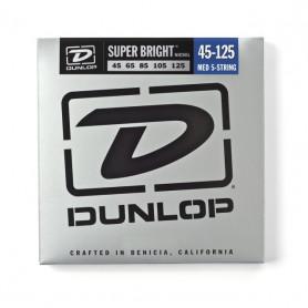 DUNLOP DBSBN45125 SUPER BRIGHT NICKEL 45-125 Струны для басгитары фото