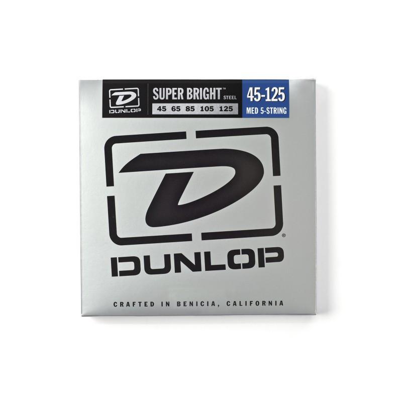 DUNLOP DBSBS45125 SUPER BRIGHT STEEL 45-125 Струны для басгитары фото