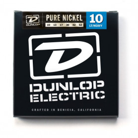 DUNLOP DEK1052 PURE NICKEL LT/HEAVY 10-52 Струны фото