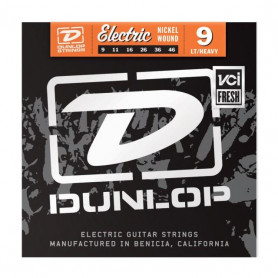 DUNLOP DEN0946 ELECTRIC LIGHT/HEAVY BOTTOM 9 Струны фото
