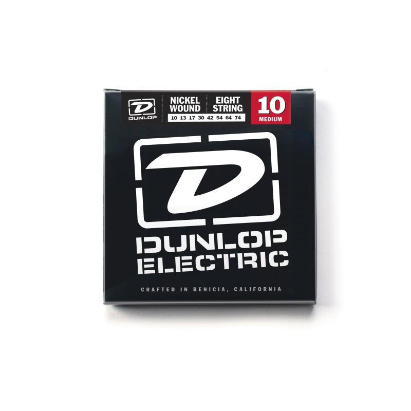 DUNLOP DEN1074 ELECTRIC MEDIUM 8-STRING 10 Струны фото