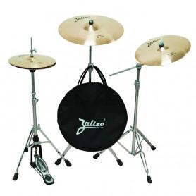 """Набор тарелок для барабанов Zalizo Prime set No.2 (14\\""""HH+16\\""""Crash+20\\""""Ride+чехол) фото"""