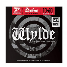 DUNLOP ZWN1060 WYLDE ELECTRIC CUSTOM HEAVY (10-60) Струны фото