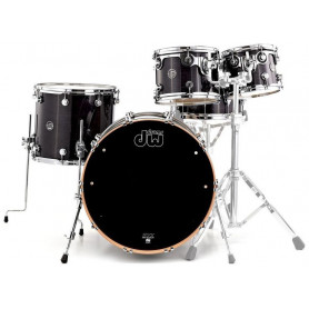 DW PERFORMANCE SERIES 5-PIECE SHELL PACK STEEL SNARE (EBONY STAIN) Ударная установка фото
