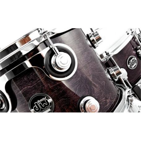 DW PERFORMANCE SERIES 5-PIECE SHELL PACK STEEL SNARE (EBONY STAIN) Ударная установка фото