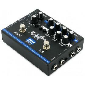 Бас-гитарная педаль эффектов/ преамп EBS MicroBass II фото