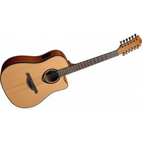 Гитара электроакустическая Lag Tramontane T66D12CE фото