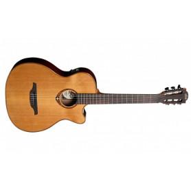 Электроакустическая гитара с нейлоновыми струнами Lag Tramontane TN100ACE фото