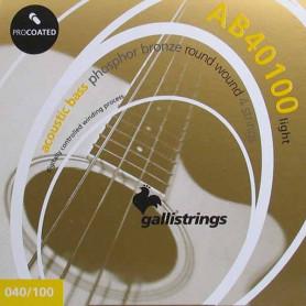Струны для акустической бас-гитары Galli ProCoated AB-40100 фото