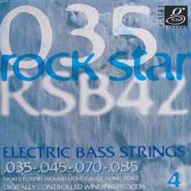 Струны для бас-гитары Galli Rock Star RSB42 (35-85) Nickel Light фото