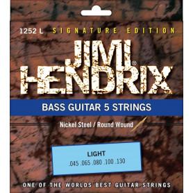 Струны для бас-гитары JIMI HENDRIX 1252 L фото