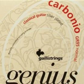 Струны для классической гитары Galli Genius Carbonio PROcoated GR95 (24-44) Normal Tension фото