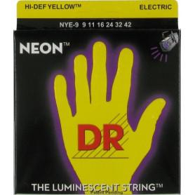 Струны для электрогитары DR NYE-9/46 NEON Hi-Def (9-46) Lite-n-Heavy фото