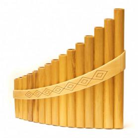 Пан-флейта Hora Panpipe 15 acacia/maple Alto фото