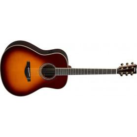 YAMAHA TransAcoustic LL-TA (Brown Sunburst) Электро-акустическая гитара фото