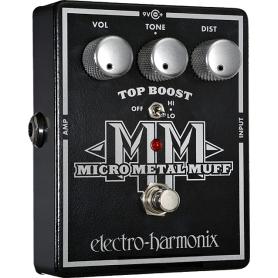 Педаль эффекта Electro-harmonix Micro Metal Muff фото