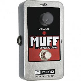 Педаль эффекта Electro-harmonix Nano Muff Overdrive фото